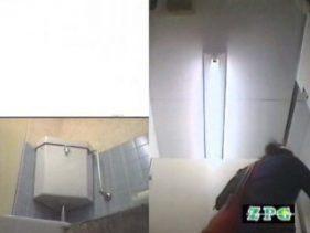 女子洗面所 便器に向かって放尿始めーっ AHSD-1 肛門  88連発